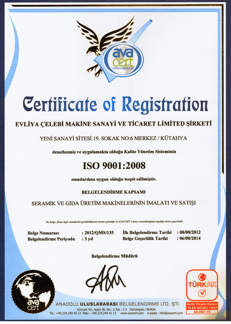 ISO 90011:2008
